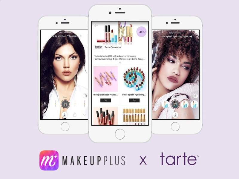 Meitu And Tarte Cosmetics Team Up For Virtual Makeup Try On