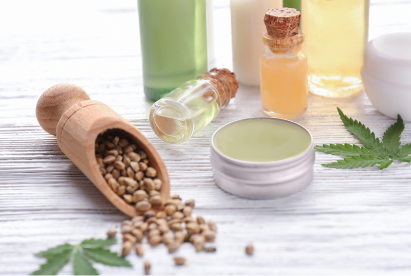 Cannabis offers original and natural opportunities for cosmetic brands.