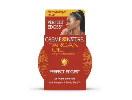 Creme of Nature improves Argan Oil from Morocco Perfect Edges gel