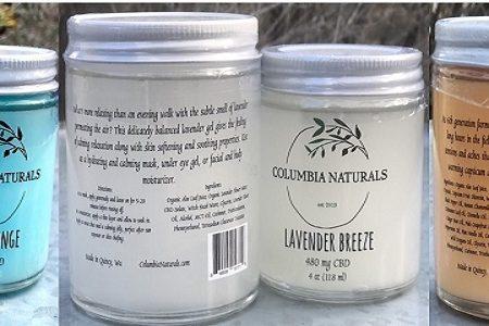 Columbia Naturals CBD potency