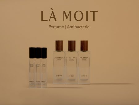 LA MOIT introduces three antibacterial body perfumes